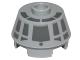 Part No: 98100pb08  Name: Cone 2 x 2 Truncated with Dark Bluish Gray Millennium Falcon Cockpit Pattern