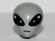 Part No: 98365pb01  Name: Minifigure, Head Modified Alien with Large Black Eyes Pattern