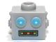 Part No: 98384pb01  Name: Minifigure, Head Modified Robot Male