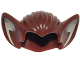 Part No: 10301pb03  Name: Minifigure, Hair Bat Ears and Tan Inner Ear Pattern
