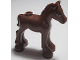 Part No: 11241pb05  Name: Horse, Friends, Foal with Black and White Eyes with Reddish Brown Iris Pattern