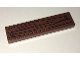 Part No: 2431pb438  Name: Tile 1 x 4 with Wood Grain and 2 Nails on Reddish Brown Background Pattern (Sticker) - Set 75903
