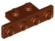 Part No: 2436b  Name: Bracket 1 x 2 - 1 x 4 with Rounded Corners