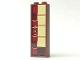 Part No: 2454pb126L  Name: Brick 1 x 2 x 5 with Totem Pole Model Left Side (Sticker) - Set 41149