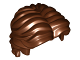Part No: 26139  Name: Minifig, Hair Short Wavy with Center Part