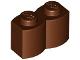 Part No: 30136  Name: Brick, Modified 1 x 2 Log