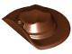 Part No: 30167  Name: Minifigure, Headgear Hat, Wide Brim Flat