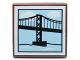 Part No: 3068bpb0674  Name: Tile 2 x 2 with Suspension Bridge Pattern
