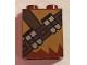 Part No: 3245cpb067  Name: Brick 1 x 2 x 2 with Inside Stud Holder with Medium Dark Flesh Fur and Dark Brown Ammunition Belt Pattern