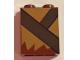 Part No: 3245cpb068  Name: Brick 1 x 2 x 2 with Inside Stud Holder with Medium Dark Flesh Fur and Dark Brown Strap Pattern