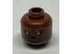 Part No: 3626bpb0390  Name: Minifig, Head with Werewolf Pattern - Blocked Open Stud