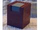 Part No: 48316c01  Name: Container, Box 8 x 8 x 8 with Dark Bluish Gray Switching Mechanism (Set 4756)