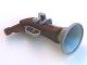 Part No: 54072c01  Name: Duplo Utensil Flintlock Pistol with Reddish Brown Handle