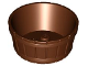 Part No: 64951  Name: Container, Barrel Half Large with Axle Hole