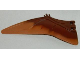 Part No: 98088pb01  Name: Dino Wing Pteranodon - Left with Marbled Medium Dark Flesh Edge Pattern
