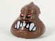 Part No: x1817px1  Name: Minifigure, Head Modified Bionicle Piraka Avak with Eyes and Teeth Pattern