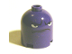 Part No: 30151apb02  Name: Brick, Round 2 x 2 x 1 2/3 Dome Top with Frown Face and Angry Eyes Pattern