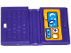 Part No: 62698pb09  Name: Minifigure, Utensil Computer Laptop with Moon, Stars and Mouse Pointer Pattern (Sticker) - Set 41116