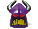 Part No: 88060pb01  Name: Minifigure, Head Modified Zurg