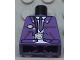Part No: 973px397  Name: Torso Harry Potter Bus Driver Jacket and Dark Purple Tie Pattern