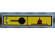 Part No: 2431pb018  Name: Tile 1 x 4 with Engine On/Off Pattern (Sticker) - Set 8480
