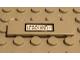 Part No: 2431pb027  Name: Tile 1 x 4 with 'Legoland-1' Pattern (Sticker) - Set 3442