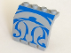 Part No: 2582px1  Name: Hinge Panel 2 x 4 x 3 1/3 with Blue SW Gungan Sub Pattern
