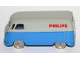 Part No: 258pb04  Name: HO Scale, VW Van with Blue Base and PHILIPS Pattern