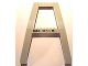 Part No: 2635pb03  Name: Support Crane Stand Double with Black 'MAX. 11 1/3 M.' Pattern (Sticker) – Set 4514