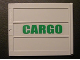 Part No: 2874pb02L  Name: Door Sliding - Type 2 with Green 'CARGO' Pattern Left Side (Sticker) - Set 4512