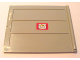 Part No: 2874pb03a  Name: Door Sliding - Type 2 with Mail Envelope Pattern Model Right Inner (Sticker) - Set 4564