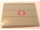 Part No: 2874pb03b  Name: Door Sliding - Type 2 with Mail Envelope Pattern Model Right Outer (Sticker) - Set 4564