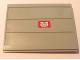 Part No: 2874pb03d  Name: Door Sliding - Type 2 with Mail Envelope Pattern Model Left Outer (Sticker) - Set 4564