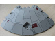 Part No: 30116pb03  Name: Panel 14 x 14 x 2 2/3 Quarter Saucer Top with Millennium Falcon Pattern
