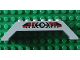 Part No: 30180pb04  Name: Slope 45 10 x 2 x 2 Double with Train Logo Black and Train Pattern on Both Sides (Stickers) - Set 4556