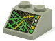 Part No: 3039pc3  Name: Slope 45 2 x 2 with Horizon Indicator Screen Pattern (Space Police II)