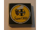Part No: 3068bpb0165  Name: Tile 2 x 2 with Groove with Santa Fe Super Chief Logo Pattern (Sticker) - Set 10022/10025