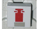 Part No: 3070bps1  Name: Tile 1 x 1 with Red and Gray Mini Snowspeeder Pattern