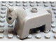 Part No: 4009pb01  Name: Duplo Horse Pony, Eyes Solid Black
