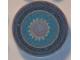 Part No: 4150pb057  Name: Tile, Round 2 x 2 with Cooker Burner Pattern (Sticker) - Set 3148