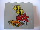 Part No: 4215bpb03  Name: Panel 1 x 4 x 3 - Hollow Studs with Fish, Coral and Crab Pattern (Sticker) - Set 1782