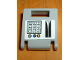 Part No: 4346pb06  Name: Container, Box 2 x 2 x 2 Door with Slot and Keypad and Card Swipe Pattern (Sticker) - Set 1376