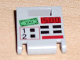 Part No: 4346pb08  Name: Container, Box 2 x 2 x 2 Door with Slot and ATM Pattern