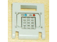 Part No: 4346pb12  Name: Container, Box 2 x 2 x 2 Door with Slot and Keypad and Blue and Red Buttons Pattern (Sticker) - Set 7045