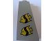 Part No: 4460pb007  Name: Slope 75 2 x 1 x 3 with Two Fish Pattern (Stickers) - Set 1782