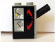 Part No: 4694c01pb02  Name: Pneumatic Switch with Top Studs with Arm Lever Control Pattern (Sticker) - Set 8443