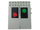 Part No: 4707pb02  Name: Electric, Train 12V Remote Control 8 x 10 with Signal Pattern