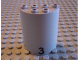 Part No: 6259pb007  Name: Cylinder Half 2 x 4 x 4 with '3' Pattern (Sticker) - Set 6339
