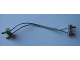 Part No: 765c15  Name: Electric, Wire 12V / 4.5V with four 1-prong connectors, 15 Studs Long