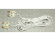 Part No: 766c190  Name: Electric, Wire 12V / 4.5V with two 2-prong connectors, 190 Studs Long
